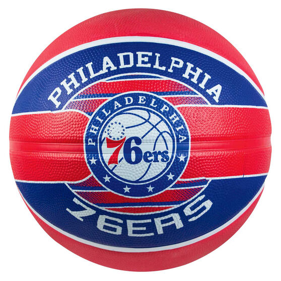 Spalding Team Series Philadelphia 76ers Basketball 7, , rebel_hi-res