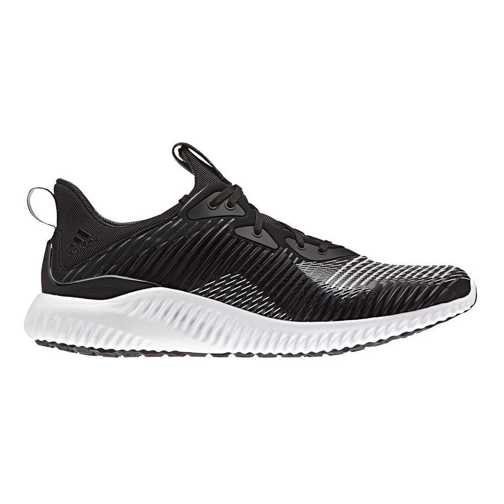 ac926570ae3ba adidas Alphabounce Haptic Mens Running Shoes Black   Grey US 10.5 ...