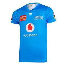 Adelaide Strikers 2019/20 Mens BBL Jersey Blue S, Blue, rebel_hi-res