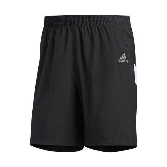 adidas Mens Own the Run 7in Shorts, Black, rebel_hi-res