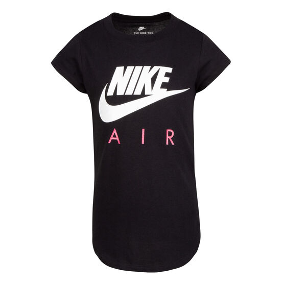 Nike Girls Futura Air SS Tee, Black, rebel_hi-res