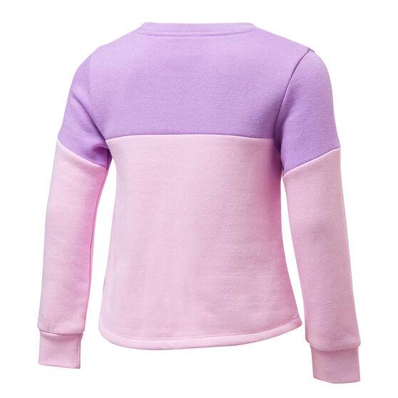 Nike Girls Futura Sweatshirt, Pink/Purple, rebel_hi-res