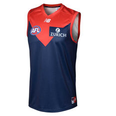 Melbourne Demons 2020 Kids Home Guernsey Navy/Red XS, Navy/Red, rebel_hi-res