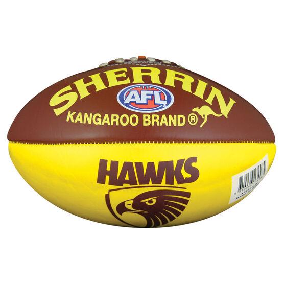 Sherrin AFL Hawthorn Hawks Softie Ball, , rebel_hi-res
