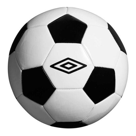 Umbro Classic Soccer Ball, Black, rebel_hi-res