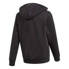 c4a174e23b7978 ... adidas Boys Essentials 3 Stripes Full Zip Hoodie Black   White 8