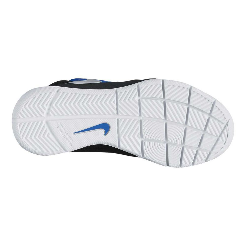 5ebcffc80fd3 Nike Team Hustle D 7 PS Junior Boys Basketball Shoes Blue   White US ...