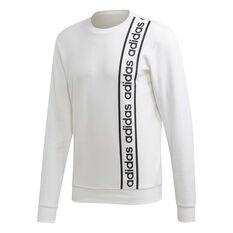 adidas Mens Celebrating the 90s Branded Sweatshirt White S, White, rebel_hi-res