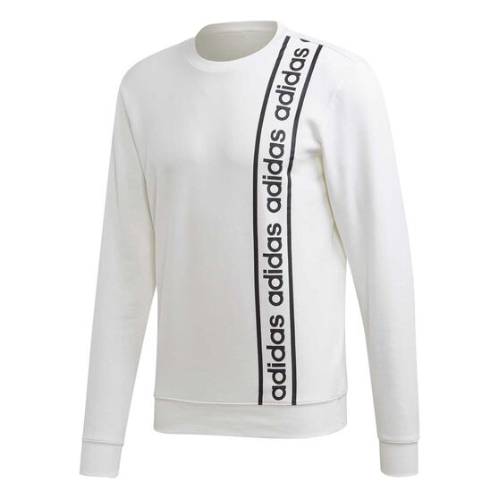 adidas Mens Celebrating the 90s Branded Sweatshirt, White, rebel_hi-res