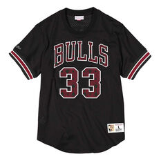 Chicago Bulls Scottie Pippen 96 Mens Jersey Black M, Black, rebel_hi-res