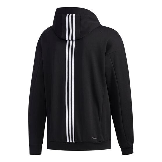adidas Mens ID Sweat Hoodie, Black, rebel_hi-res