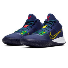 Nike Kyrie Flytrap 4 Mens Basketball Shoes, Blue/Yellow, rebel_hi-res
