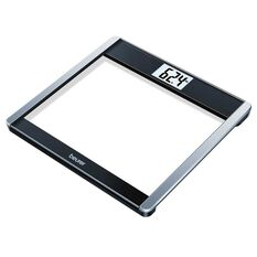 Beurer GS485 Bluetooth Digital Glass Scales Black / Silver, , rebel_hi-res