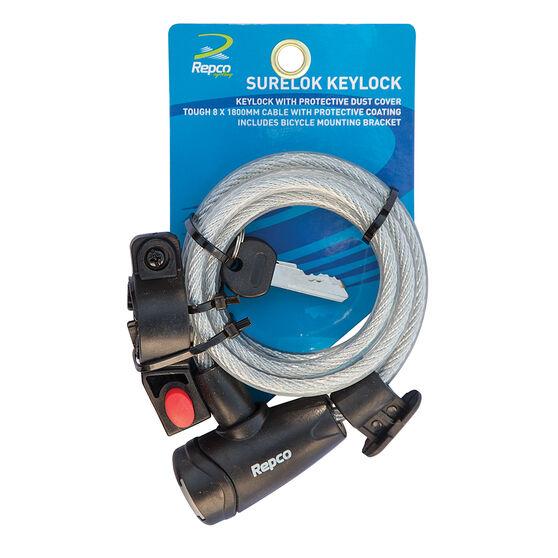 Repco Surelok Bike Keylock, , rebel_hi-res