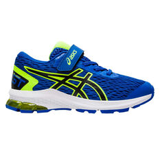 Asics GT 1000 9 Kids Running Shoes Blue / Yellow US 11, Blue / Yellow, rebel_hi-res