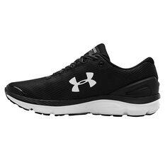 Under Armour Charged Gemini Mens Running Shoes Black US 7, Black, rebel_hi-res