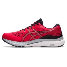 Asics GEL Kayano 28 Mens Running Shoes Red/Black US 10.5, Red/Black, rebel_hi-res