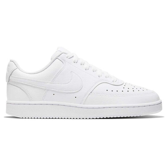 Nike Court Vision Low Womens Casual Shoes, White, rebel_hi-res