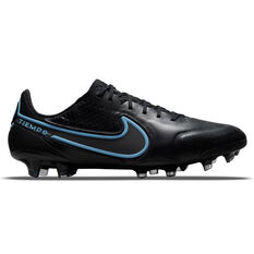 Nike Tiempo Legend 9 Elite Football Boots Black/Grey US Mens 4 / Womens 5.5, Black/Grey, rebel_hi-res