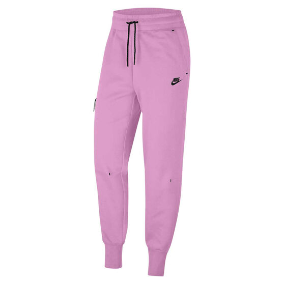 Nike Womens Sportswear Tech Fleece Pants, Pink, rebel_hi-res