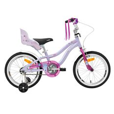Flight Girls Cruiser 105 16in Bike Purple 40cm, , rebel_hi-res