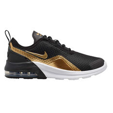 Nike Air Max Motion 2 Kids Casual Shoes Black / Gold US 5, Black / Gold, rebel_hi-res