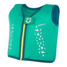Speedo Infant Sea Squad Float Vest, Green, rebel_hi-res