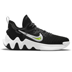 Nike Giannis Immortality Kids Basketball Shoes Black US 4, Black, rebel_hi-res
