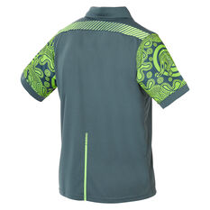 Wallabies 2019 Mens Rugby World Cup Indigenous Polo Green S, Green, rebel_hi-res