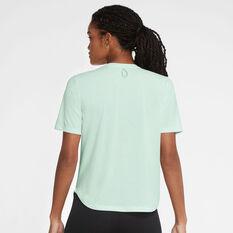 Nike Womens Run Division Tee Green XS, Green, rebel_hi-res