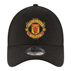 Manchester United New Era 39THIRTY Cap Black, Black, rebel_hi-res