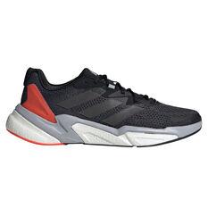 adidas X9000L3 Mens Casual Shoes Black/Red US 7, Black/Red, rebel_hi-res