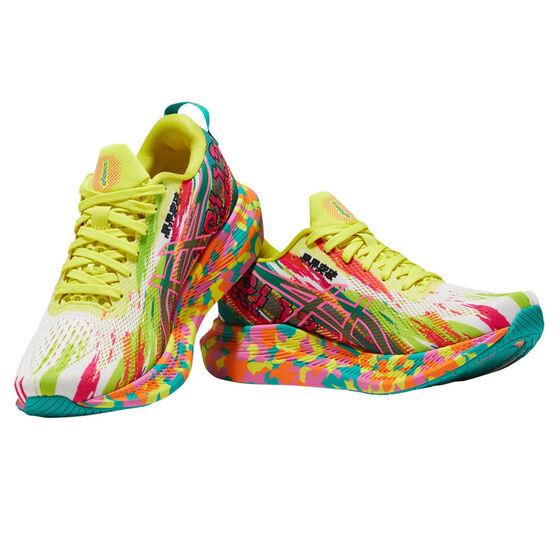 Asics GEL Noosa Tri 13 Womens Running Shoes, Pink/Yellow, rebel_hi-res