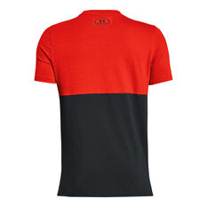 86ad708e3be ... Under Armour Boys SC30 Key Item Tee Red / Black XS, Red / Black,