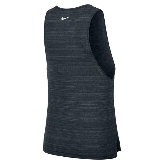 Nike Womens Icon Clash Running Tank, Black, rebel_hi-res