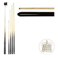 "Pot Black 57"" Embassy Pool Cue, , rebel_hi-res"