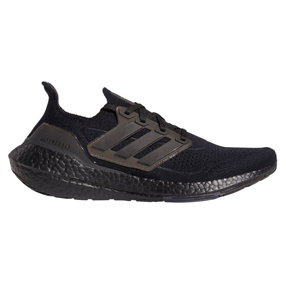 adidas Ultraboost 21 Mens Running Shoes, Black, rebel_hi-res