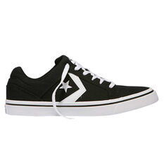 Converse El Distrito Mens Casual Shoes Black US 7, Black, rebel_hi-res