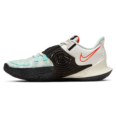 Nike Kyrie Low 3 Mens Basketball Shoes White/Teal US 5.5, White/Teal, rebel_hi-res