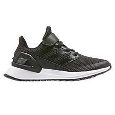 adidas Rapidarun Kids Running Shoes Black / White US 11, Black / White, rebel_hi-res