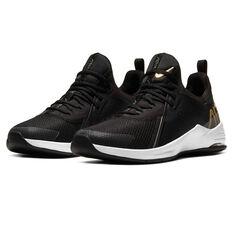 Nike Air Max Bella TR 3 Womens Training Shoes, Black/Gold, rebel_hi-res
