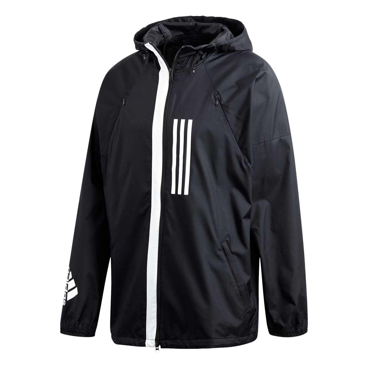 adidas Wind Jacket Black Black Mens Clothing | Pro