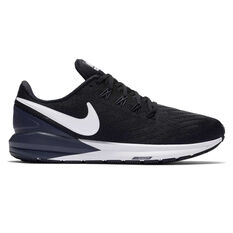 Nike Air Zoom Structure 22 Womens Running Shoes Black / White US 6, Black / White, rebel_hi-res