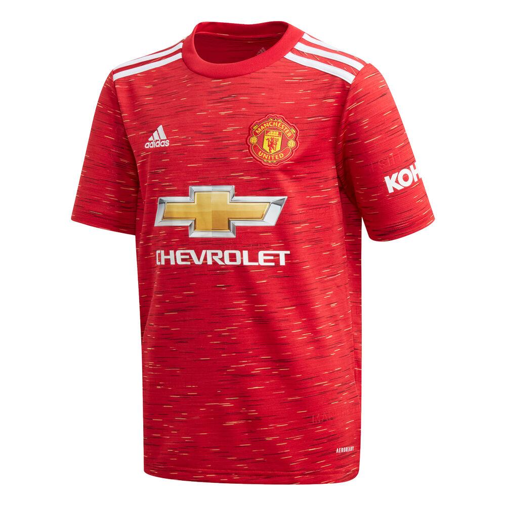Manchester United 2020/21 Kids Home Jersey   Rebel Sport