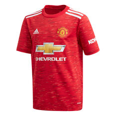 Manchester United 2020/21 Kids Home Jersey Red 8, Red, rebel_hi-res