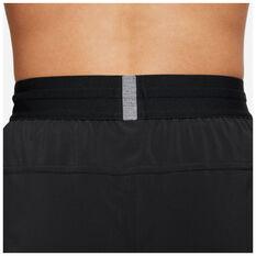Nike Mens Flex Yoga Shorts, Black, rebel_hi-res