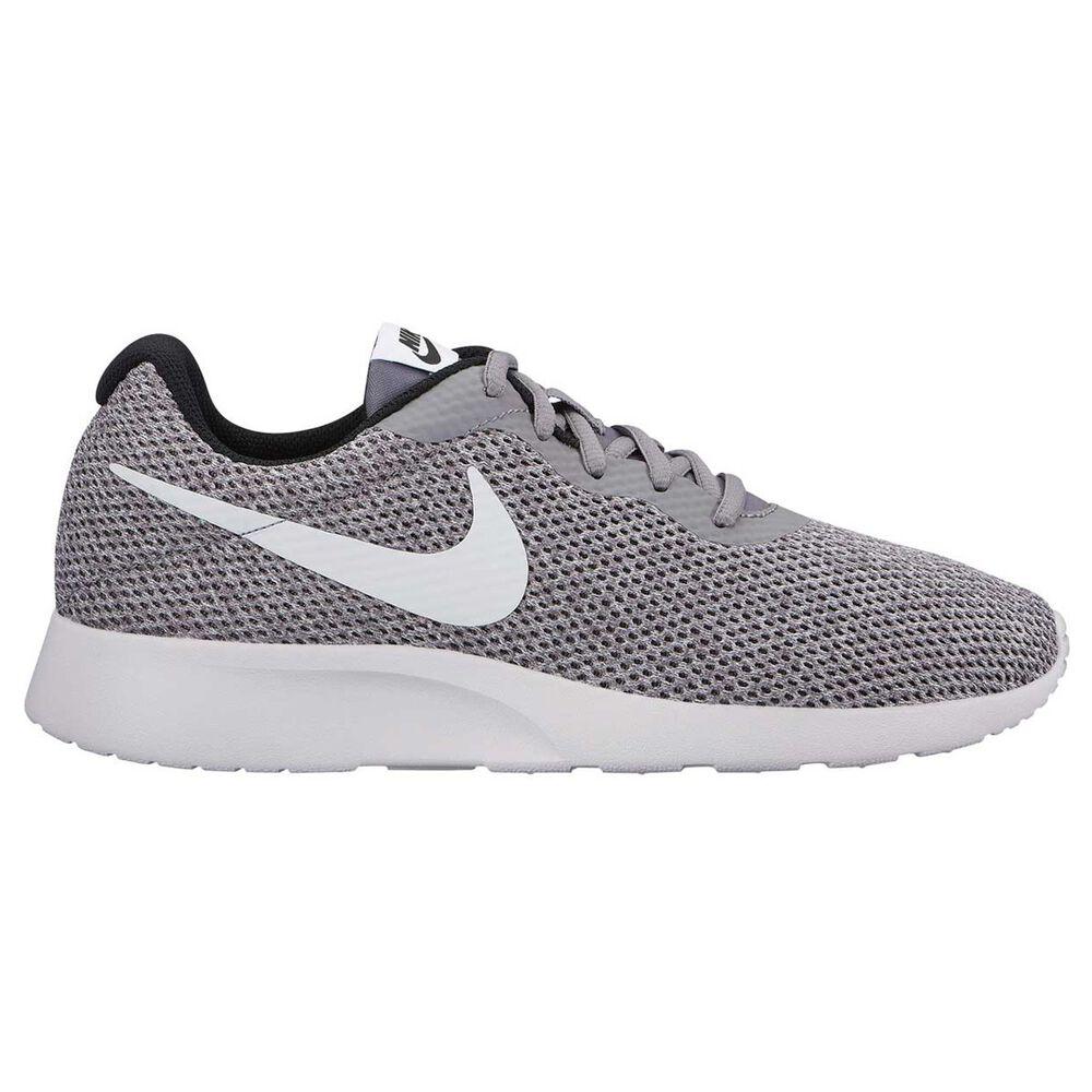 Nike Tanjun Mens Casual Shoes Grey   White US 11  7a5169d254f