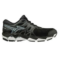 Mizuno Wave Horizon 3 Womens Running Shoes Black / White US 7, Black / White, rebel_hi-res