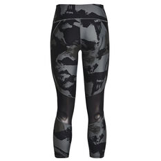 Under Armour Womens Project Rock Ankle Tights Grey XS, Grey, rebel_hi-res