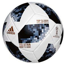 adidas Telstar 2018 Top Glider Soccer Ball White / Black 3, White / Black, rebel_hi-res